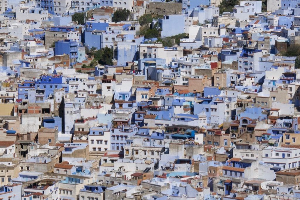 In the Mountains in Chefchaouen, Morocco – 2019